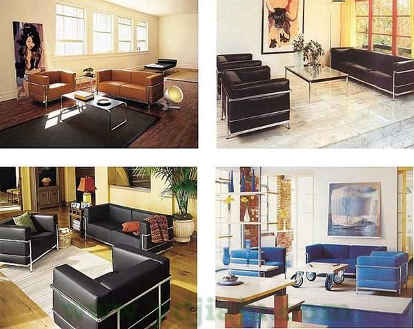 柯布西耶沙发 Le Corbusier Sofa Lc3 1