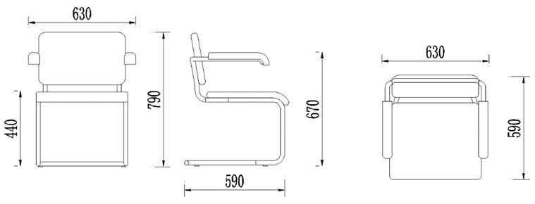 椅子平面手绘图片