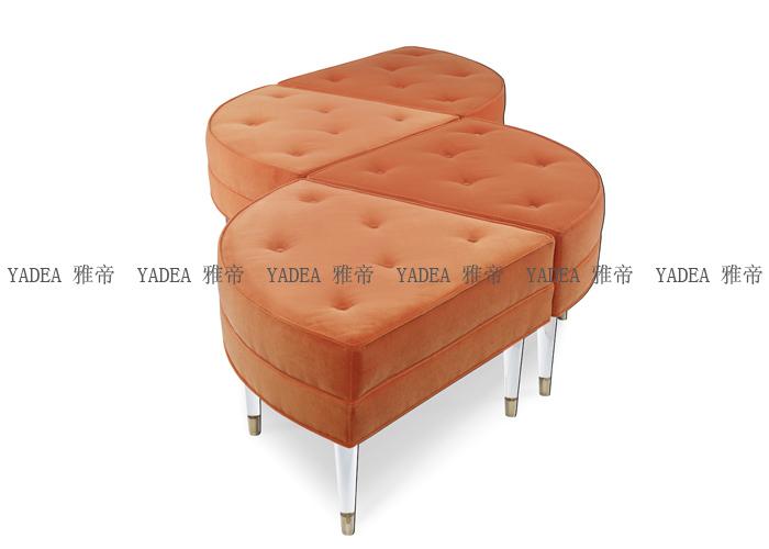 蛋糕沙发(piece of cake ottoman sofa) 图片
