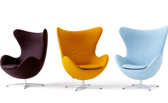 Arne Jacobsen的有机设计——蛋椅(Egg Chair)
