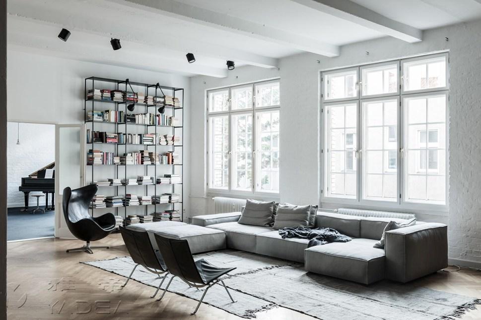现代简约风格客厅特点图片