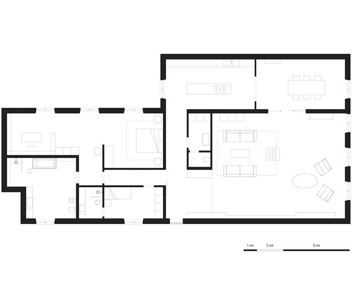 建筑房间布局设计
