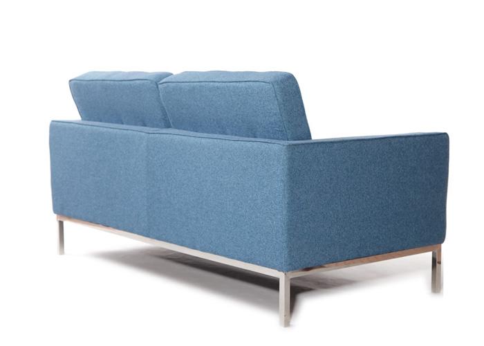 产品标题:蓝色双人位沙发