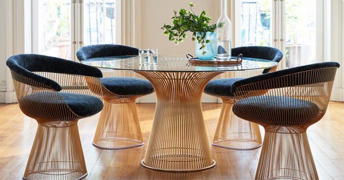 创意休闲椅(platner lounge chair)是非常有创意的家具,在家中有了他图片