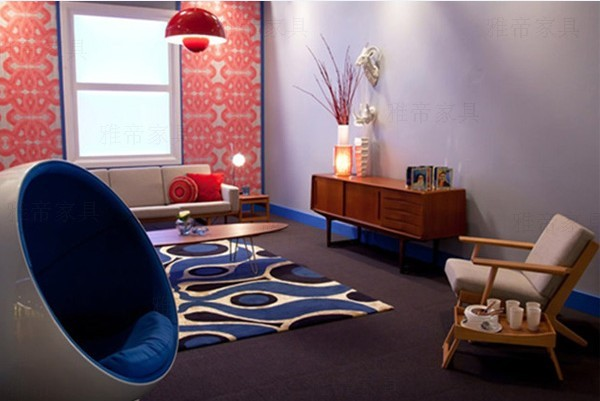 Hans Wegner 2 Seater Plank Sofa(双人位汉森实木沙发)