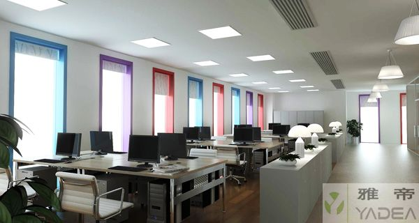 现代办公室效果图