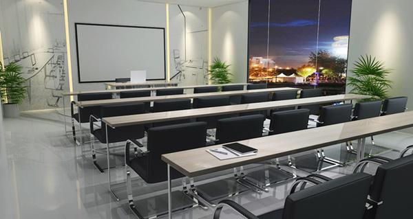 雅帝家具公司培训室设计效果图