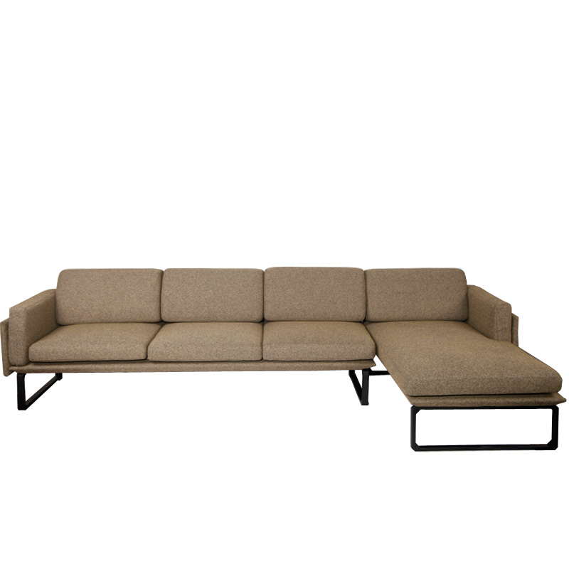 产品标题:北欧布艺转角沙发