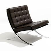 【现代时尚不锈钢家具】巴塞罗那椅(Barcelona Chair)