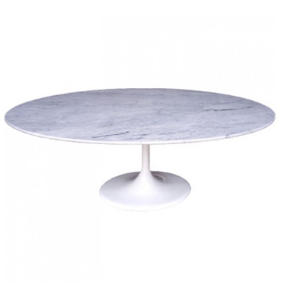 沙里宁郁金香餐桌(Saarinen Tulip Oval Dining Table)