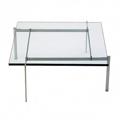 保罗咖啡桌(Poul Kjaerholm Coffee Table)