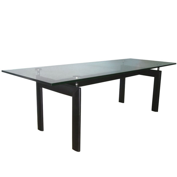 LC6玻璃桌(Glass Dining Table LC6)