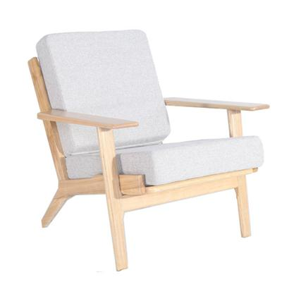 Hans Wegner Plank Chair( 汉斯扶手木板椅)