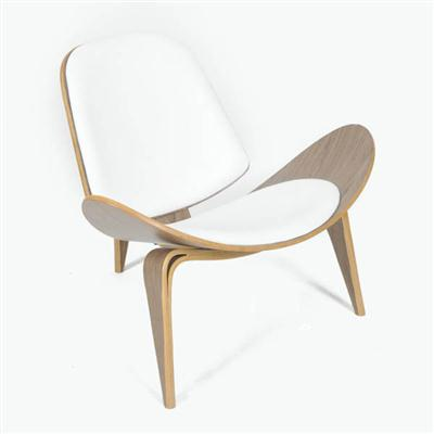 Wegner shell chair(三脚休闲椅)