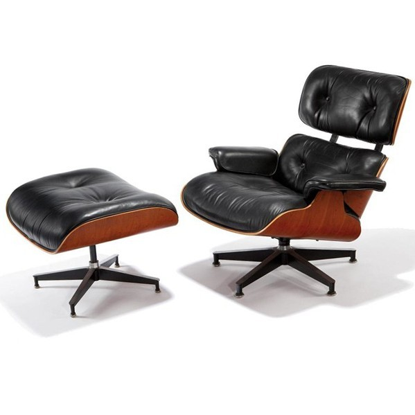 赫曼米勒版本的伊姆斯休闲椅(Hermanmiller version eames lounge chair)