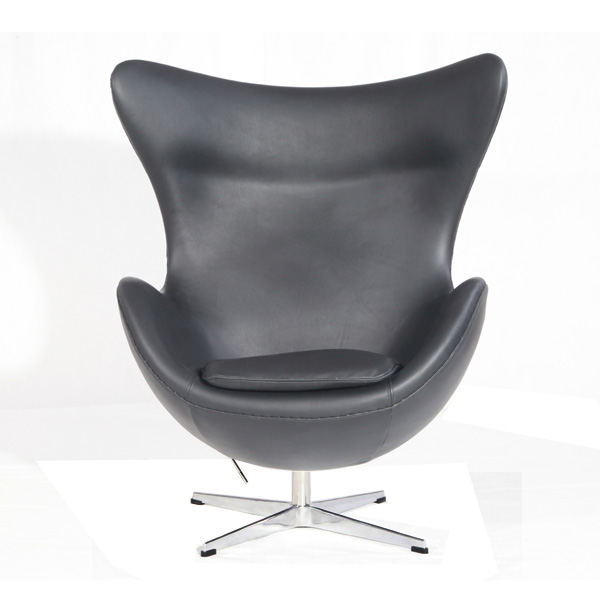 黑色蛋椅(Black  Egg Chair )