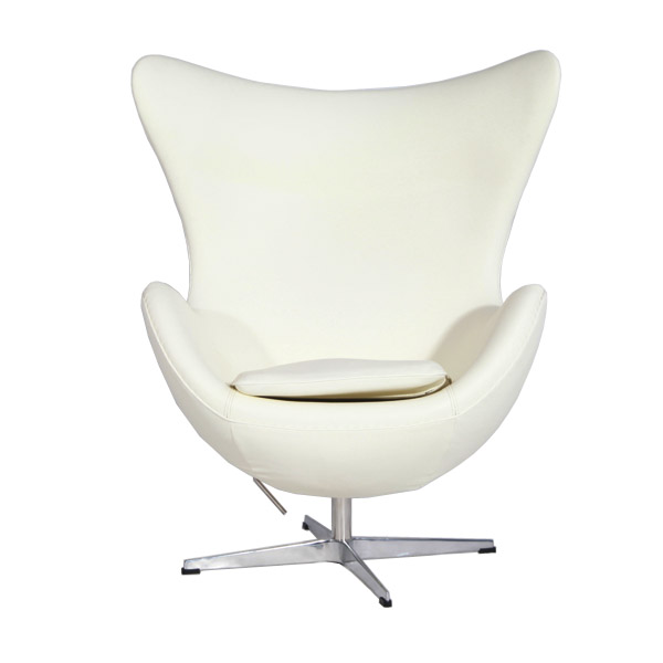 白色蛋椅(white egg chair)