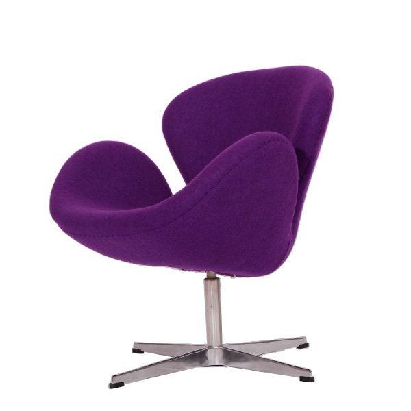 紫色天鹅椅(purple swan chair)