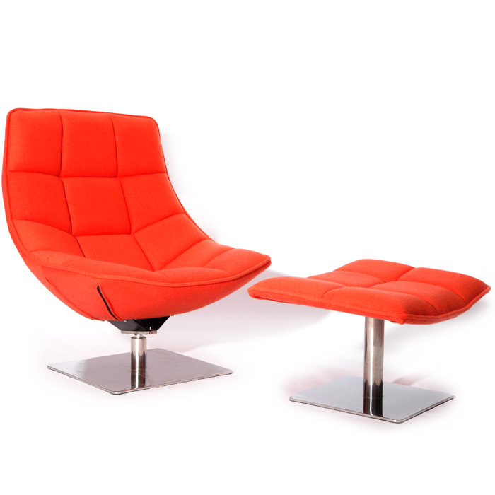 现代躺椅DC012:Jehs+Laub Lounge Chair
