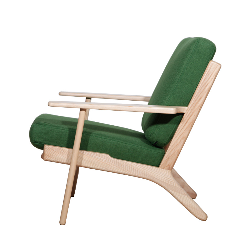 北欧休闲椅子(Hans Wegner Plank Chair)