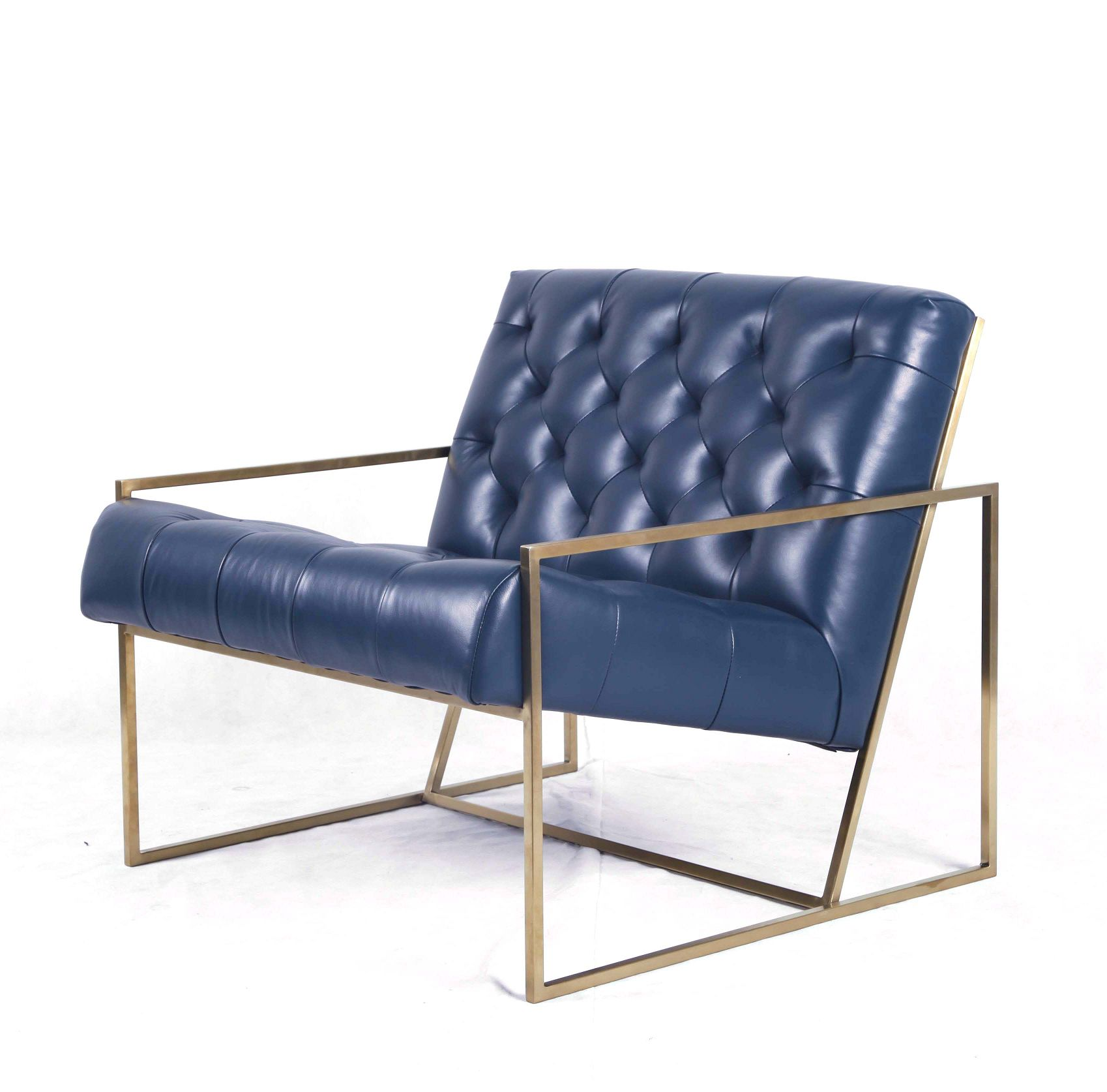 简约复古休闲椅(Thin Frame Lounge Chair)