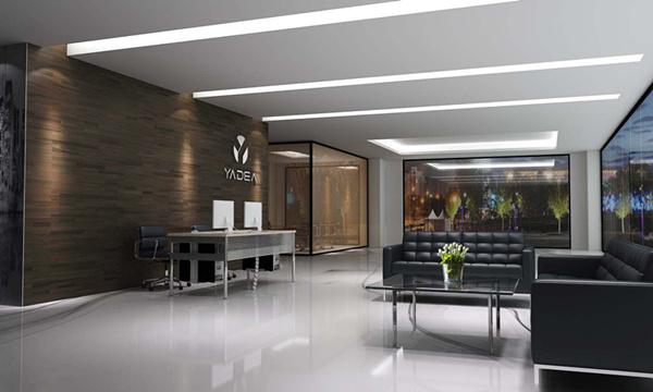 雅帝家具公司前台和接待区设计效果图